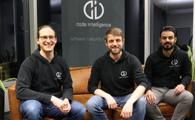 Henning Perl, Sergej Dechand, Khaled Yakdan (vlnr.) Code Intelligence, das Startup hinter Jazzer