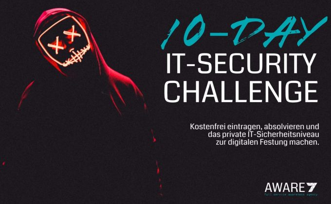 10 Day IT Security Challenge Banner Web © Aware7 GmbH