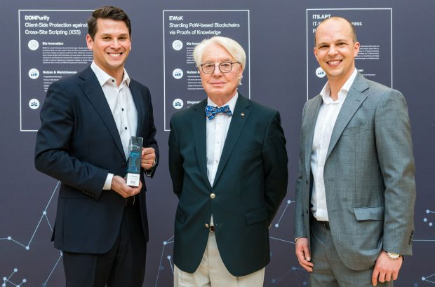Winner of the 1st prize of the German IT Security Award