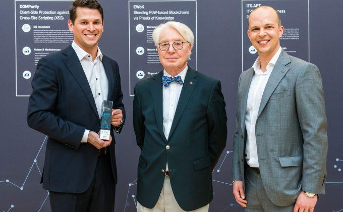 Gewinner des 1. Preis des deutschen IT-Sicherheitspreis