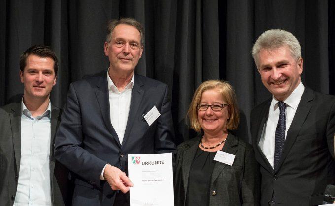 Ruhr-Universität Bochum Verleihung Exzellenz Sartup Center