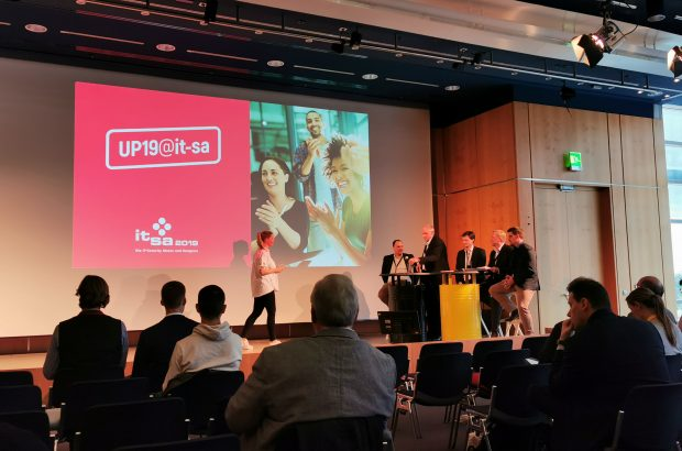 Cube 5 zu Besuch bei UP19 auf der it-sa