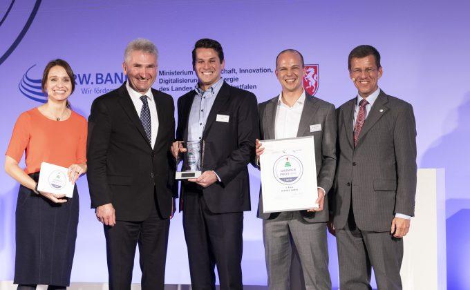 8. Verleihung des Gründerpreises NRW mit Gewinner PHYSEC