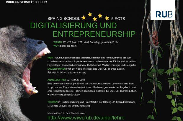 Spring School Digitalisierung Und Entrepreneurship (00000002)