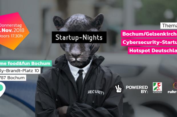Startup-Nights goes Bochum